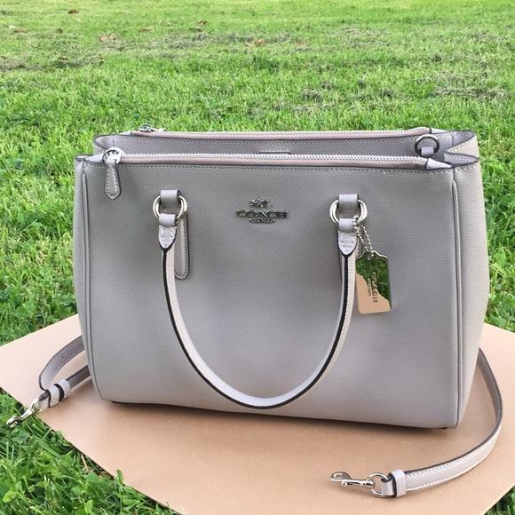 Coach Handbags - Coach 🌹 surrey tote purse Crossbody shoulder bag